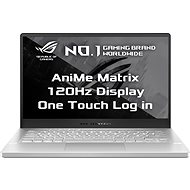 Asus ROG Zephyrus G14 GA401II-AniMe095T Moonlight White s AniMe Matrix kovový - Herní notebook