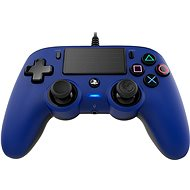 Nacon Wired Compact Controller PS4 - modrý - Gamepad