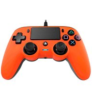 Nacon Wired Compact Controller PS4 - oranžový - Gamepad