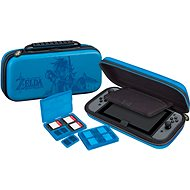 BigBen Official travel case Zelda modrý - Nintendo Switch - Pouzdro