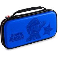 BigBen Official Super Mario travel case modrý - Nintendo Switch