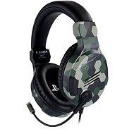 BigBen PS4 Stereo-Headset v3 - zelený - Herní sluchátka