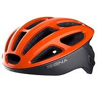 SENA cyklo přilba R1 se zabudovaným headsetem oranžová - Helma na kolo