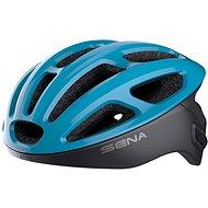 SENA cyklo přilba R1 se zabudovaným headsetem modrá - Helma na kolo