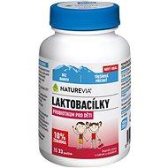 Swiss NatureVia Laktobacílky třešňové 33 pastilek - Probiotika