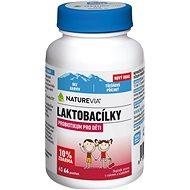 Swiss NatureVia Laktobacílky třešňové 66 pastilek - Probiotika