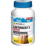Swiss NatureVia® Laktobacily 3, 30 kapslí