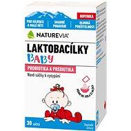 Swiss NatureVia® Laktobacílky baby 30 sáčků - Probiotika