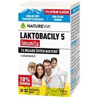 Swiss NatureVia® Laktobacily 5 Imunita cps.33 - Probiotika