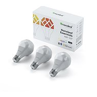 Nanoleaf Essentials Smart A19 Bulb E27 3 Pack - LED žárovka