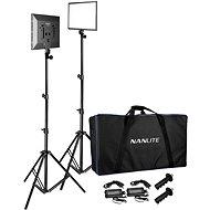 Nanlite LumiPad 25 - set 2x LED světlo, 2x stativ, taška - Fotosvětlo