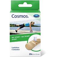 COSMOS Náplast na sport - 1,9 x 7,2 cm (20 ks) - Náplast