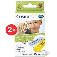 COSMOS Náplast dětská - 2 velikosti (2× 20 ks) - Náplast