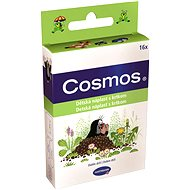 COSMOS Náplast dětská s krtkem - 3 velikosti (16 ks) - Náplast