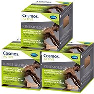 COSMOS Active tejpovací páska béžová 5 cm x 5 m - 3 ks - Tejp