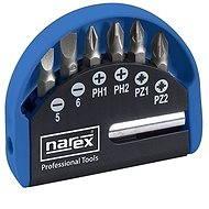 Narex Industrial-CrV 7-Bit Box - Sada bitů