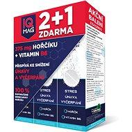 IQ Mag hořčík + B6 šumivé tablety (40+20 tablet Zdarma) - Hořčík