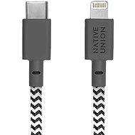Native Union Belt Cable C-L Lightning 1.2m, Zebra
