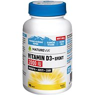 Swiss NatureVia Vitamin D3-Efekt 2000IU tbl.90 - Vitamín D