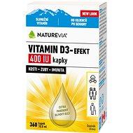 Swiss NatureVia Vitamin D3-Efekt 400 IU Drops 10.8ml - Vitamin D
