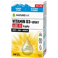 Swiss NatureVia Vitamin D3-Efekt 400 IU kap.10.8ml - Vitamín D