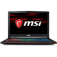 MSI GP63 8RE-499CZ Leopard - Notebook