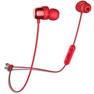 Niceboy HIVE E2 červená - Sluchátka s mikrofonem