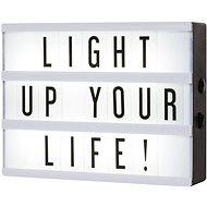 Smartwares LED svítidlo A5 vč. 85 znaků 10.043.66 - Svítidlo