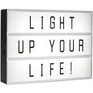 Smartwares LED svítidlo A4 vč. 85 znaků 10.042.82 - Svítidlo