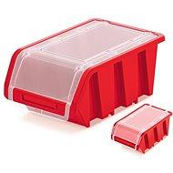 Prosperplast TRUCK PLUS uzavíratelný červený 155x100x70