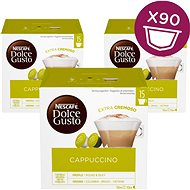 Nescafé Dolce Gusto Cappuccino 30ks x 3 - Kávové kapsle