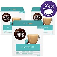 NESCAFÉ Dolce Gusto Flat White, 3-Pack - Coffee Capsules