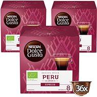 NESCAFÉ Dolce Gusto Peru Cajamarca Espresso, 3 balení - Kávové kapsle