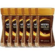 Nescafe Gold Original, instantní, 6x200g - Káva