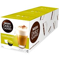 Nescafé Dolce Gusto Cappuccino 16ks x 3 - Kávové kapsle