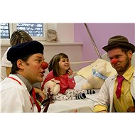 The health clown helps ridiculously hospitalized children and seniors - Charity Project