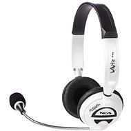 NGS MSX6 PRO bílý - Sluchátka