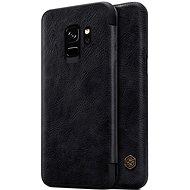Nillkin Qin Book pro Samsung G965 Galaxy S9+ Black - Pouzdro na mobilní telefon