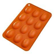 Forma silikon VAJÍČKA 12 oranžová