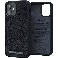 Njord Vindur Case for iPhone 12 Mini Dark Grey - Kryt na mobil