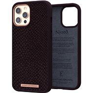 Njord Eldur Case for iPhone 12 Pro Max Aubergine - Kryt na mobil