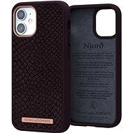 Njord Eldur Case for iPhone 12 Mini Aubergine