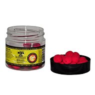 Nikl - Plovoucí boilies Gigantika tmavě červená 50 g - Pop-up boilies