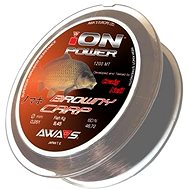 AWA-S Ion Power Browny Carp 1200m - Fishing Line