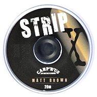 Carp´R´Us StripX Matt Hnědá 20m - Šňůra