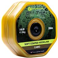 RidgeMonkey RM-Tec Soft Coated Hooklink 20m Camo - Šňůra