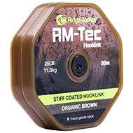RidgeMonkey RM-Tec Stiff Coated Hooklink 20m Hnědá - Šňůra
