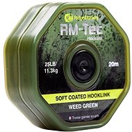 RidgeMonkey RM-Tec Soft Coated Hooklink 20m Zelená - Šňůra