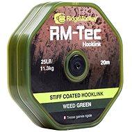 RidgeMonkey RM-Tec Stiff Coated Hooklink, 20m, Green - Line
