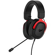 ASUS TUF Gaming H3 Red - Herní sluchátka